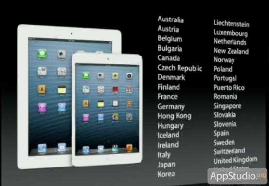 Продажи iPad mini