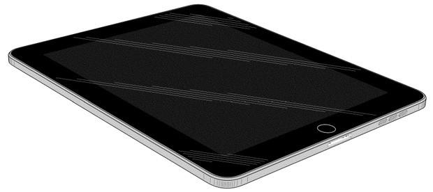Патент на дизайн Apple iPad