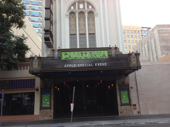 Презентация iPad mini пройдёт в калифорнийском театре