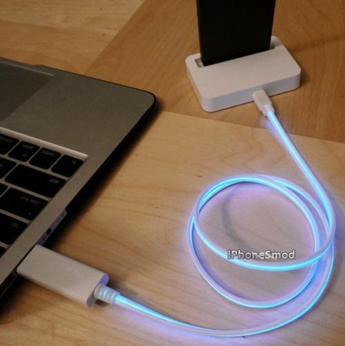Альтернативный кабель для iPhone 5 с разъёмом Lightning