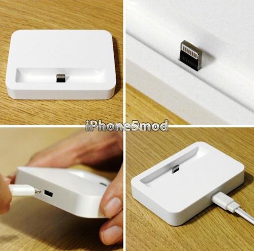 Док-станция для iPhone 5 от iPhone5mod с разъёмом Lightning
