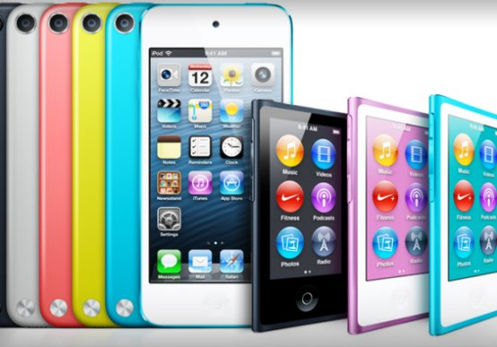 Начало поставок новых iPod nano и iPod touch