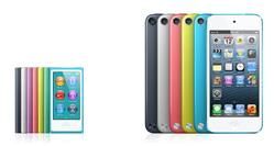 Начались поставки новых iPod nano и iPod touch