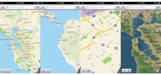 Возможности новых карт от Apple в режиме оффлайн