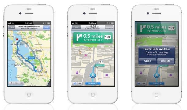 Карты в iOS 6 в оффлайне