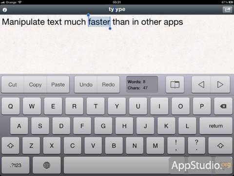 Tyype HD из App Store