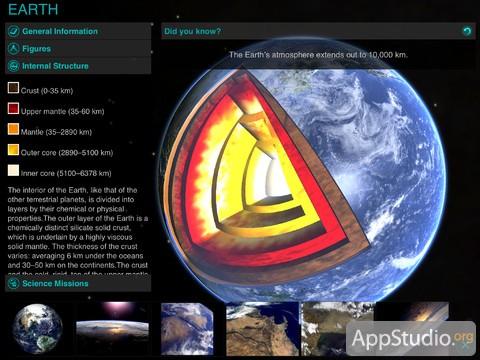 Solar Walk из App Store