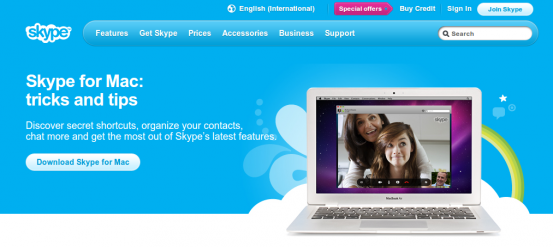 Skype 6.0 для Mac