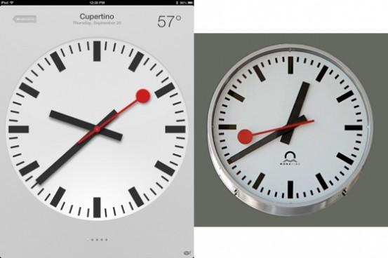 Часы Швейцарских железных дорог