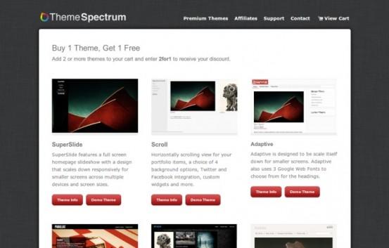 Темы для WordPress от ThemeSpectrum