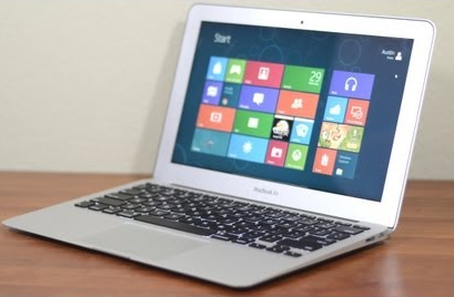 Зависание Windows 8 на MacBook Air