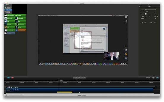 Camtasia 2 for Mac