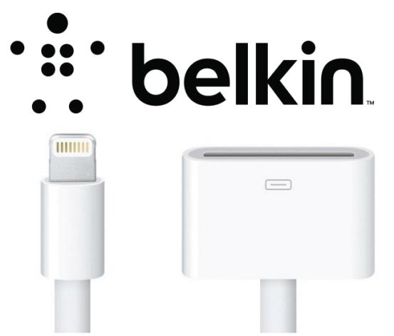 Первые официальные альтернативные аксессуары с разъёмом Lightning производства Belkin
