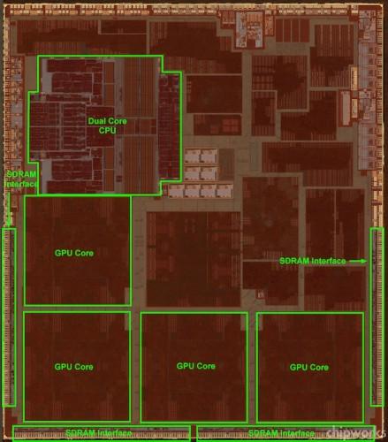 Графический блок процессора Apple A6X