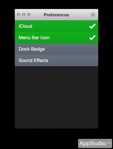 Clear из Mac App Store
