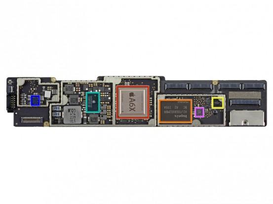 Процессор Apple A6X в iPad4