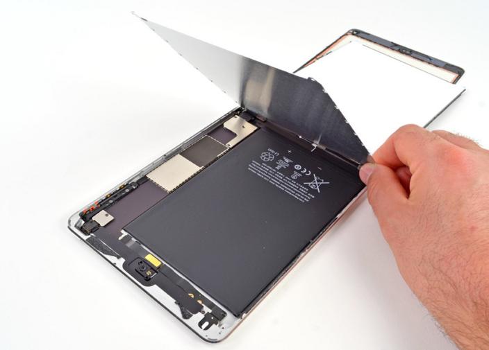 Внутренности iPad mini
