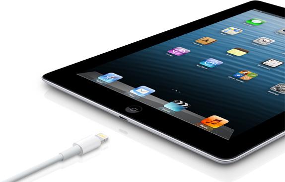 Порт Lightning в iPad 4