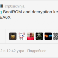 Сообщение хакера p0sixninja в Твиттере