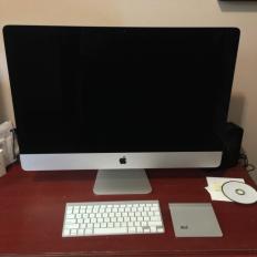 Первая партия новых 27-дюймовых iMac
