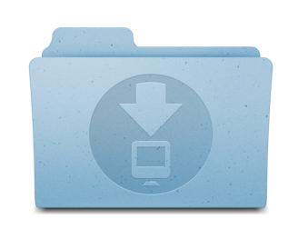 Восстановление удалённой папки загрузок в Mac OS X