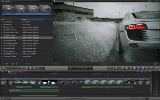 Final Cut Pro X 10.0.7