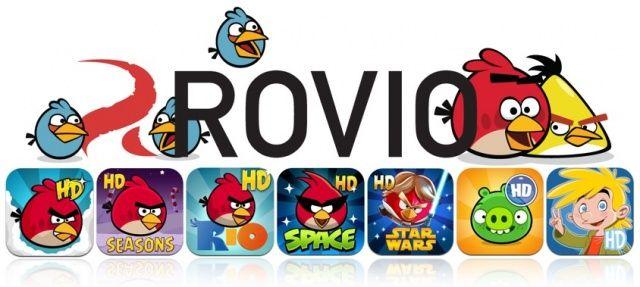 Массовая распродажа iPad-версий игр от Rovio