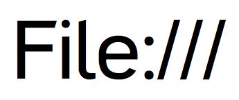 Глюк с File в Mac OS X