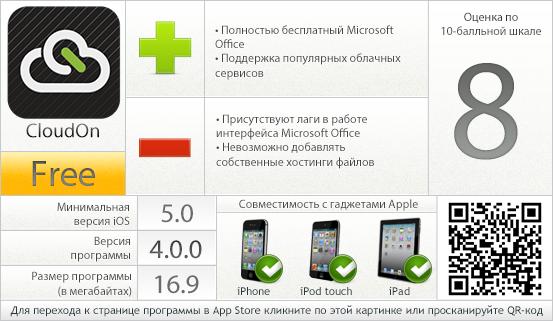 CloudOn: вердикт проекта AppStudio