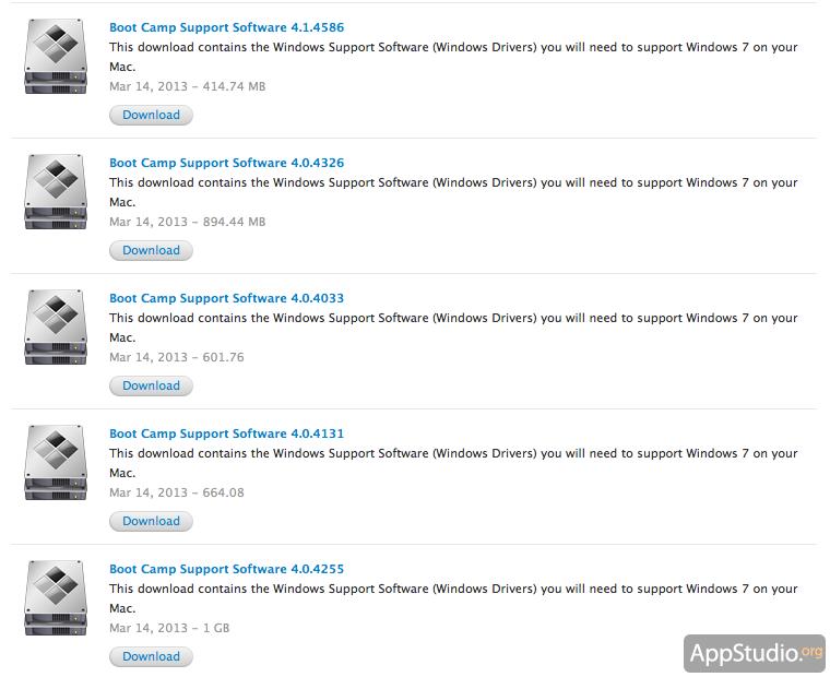 Boot Camp 5 - какие Маки официально поддерживают Windows 8