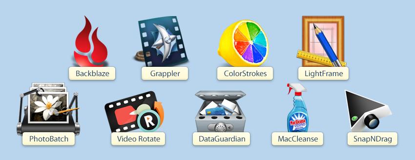 Пакет MacUpdate Free Bundle из 9 программ для Мака