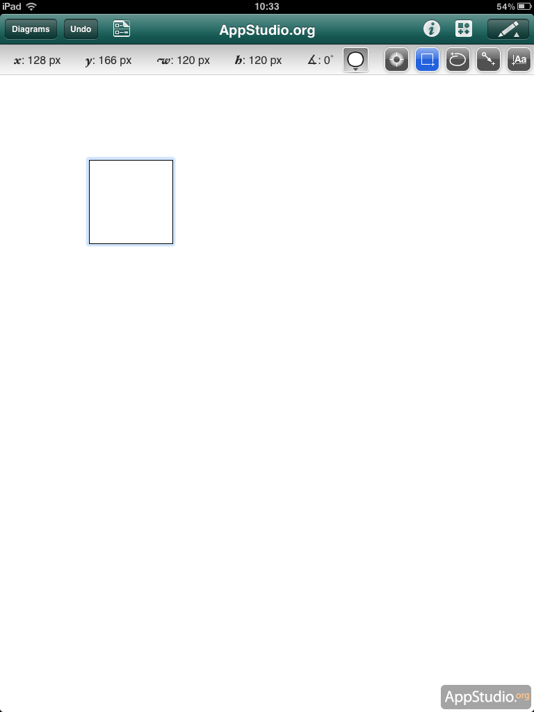 Редактирование элемента в OmniGraffle