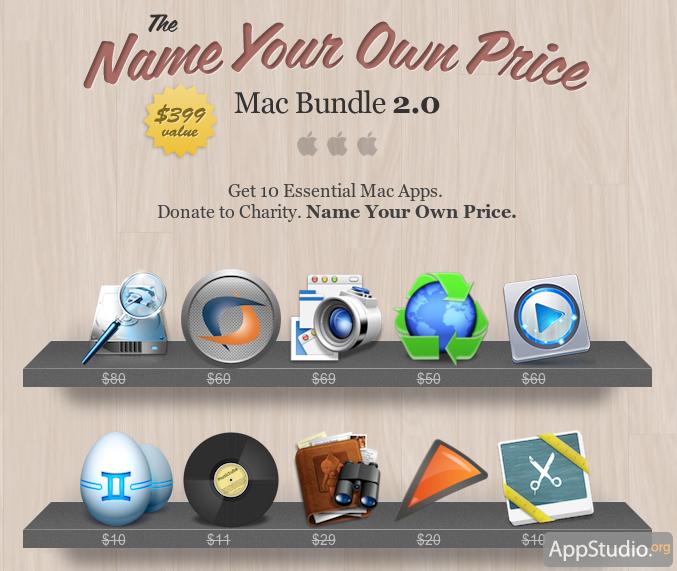 [Надо брать!] Бандл Stacksocial для OS X: 10 программ по назначенной вами цене