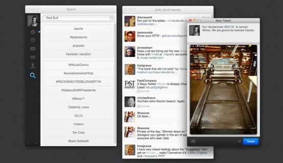 Обновление официального клиента Twitter для OS X