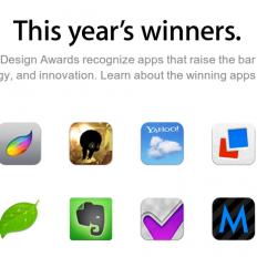 Победители Apple Design Awards 2013