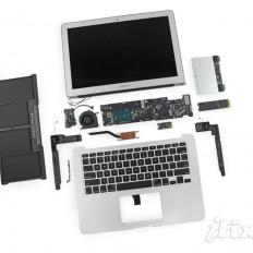 "iFixit разобрали новый MacBook Air 13"""