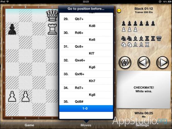 Chess Pro Ходы