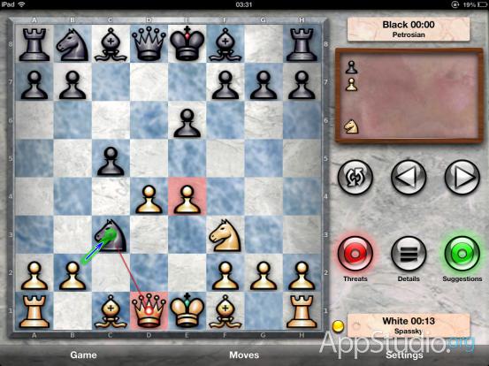Chess Pro Игры классиков