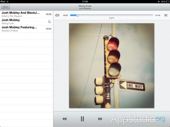 Files App Музыкальный проигрыватель
