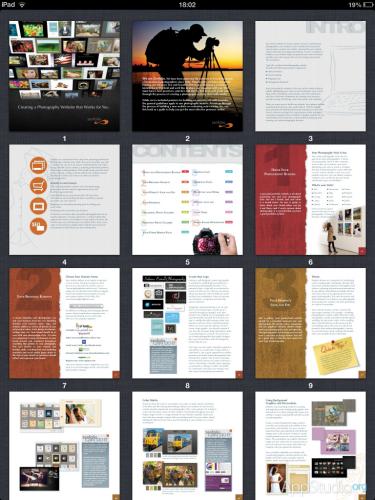 Files App Просмотр PDF