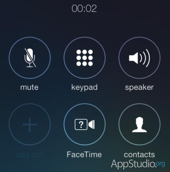 Новые иконки в приложении Телефон