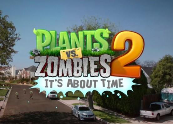 Plants vs. Zombies 2 появился в российском отделении App Store