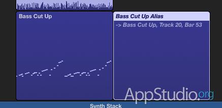 Различие между MIDI регионом и ссылкой на него