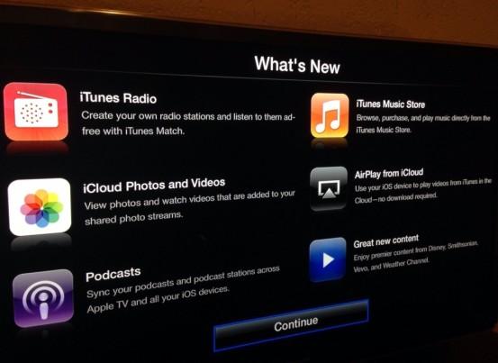 Прошивка 6.0 для Apple TV