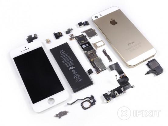Разборка iPhone 5s в iFixit