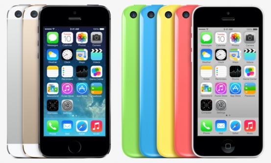 Итоги первого уикенда продаж iPhone 5s и iPhone 5c