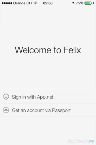 Felix  — Первый логин