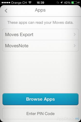 Moves - Приложения