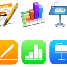 Апдейт офисного пакета iWork для OS X, iOS и iCloud