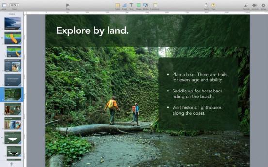 Keynote для OS X